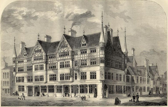 1866 &#8211; Grosvenor Hotel, Chester, Cheshire