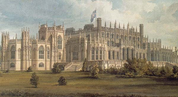 1813 &#8211; Eaton Hall, Cheshire