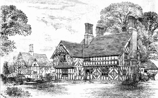 1886 &#8211; Cottages, Pulford Drive, Eaton, Cheshire