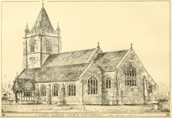 1870 – St. Alban's Church, Tattenhall, Cheshire