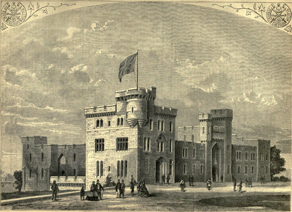 1861 &#8211; New Barracks, Chester, Cheshire