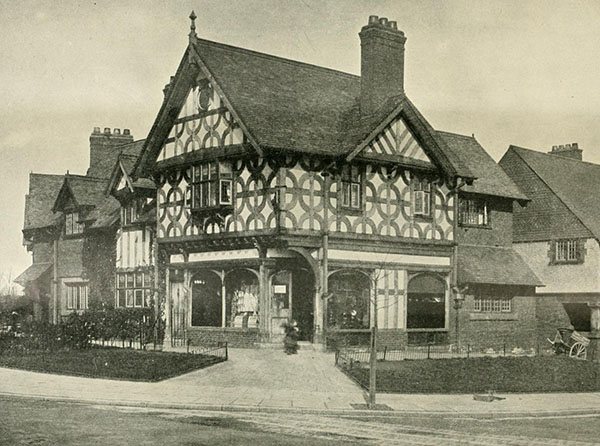 1898 – Village Shops, Port Sunlight, Cheshire