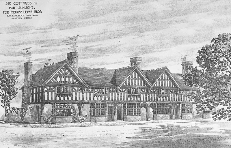 1899 – Cottages, Port Sunlight, Chesire