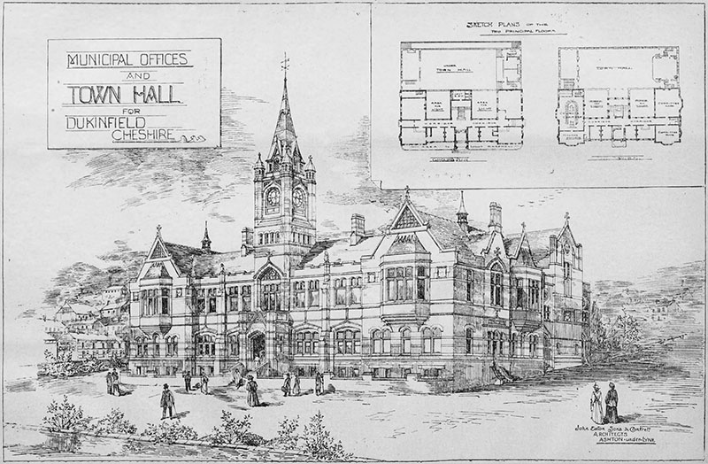 1899 – Town Hall, Dukinfield, Cheshire