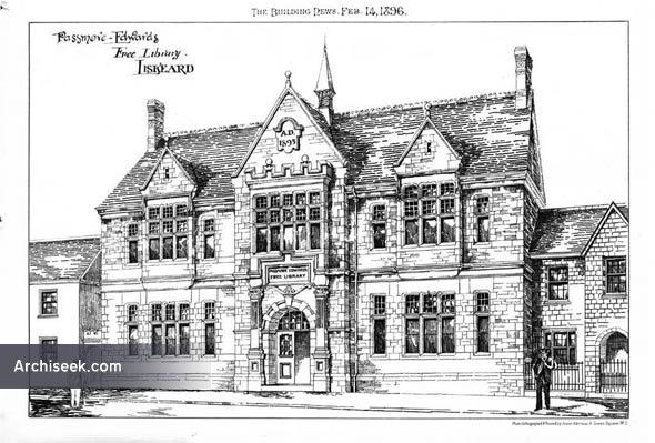 1896 – Passmore Edwards Free Library, Liskeard, Cornwall