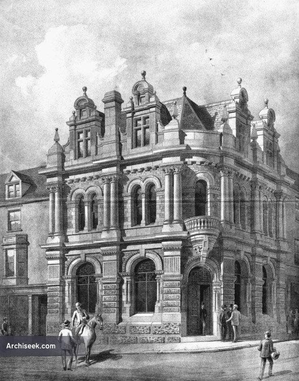 1888 – West Cornwall Bank, Truro, Cornwall
