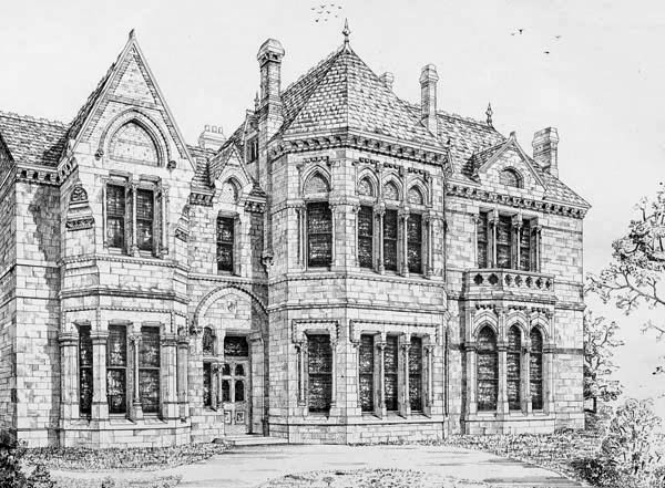 1871 &#8211; Tolveau House, Redruth, Cornwall
