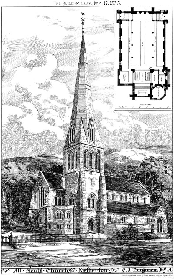 1885 &#8211; All Souls Church, Netherton, Cumberland