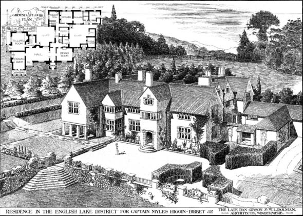 1910 – Residence, The English Lake District, Cumberland