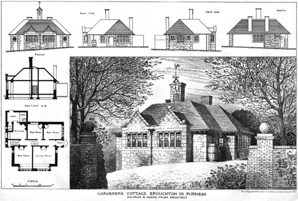1906 – Gardeners Cottage, Broughton in Furness, Cumberland