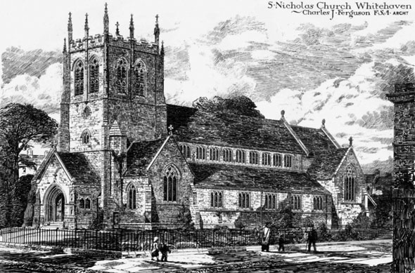 1881 – St. Nicholas Church, Whitehaven, Cumbria