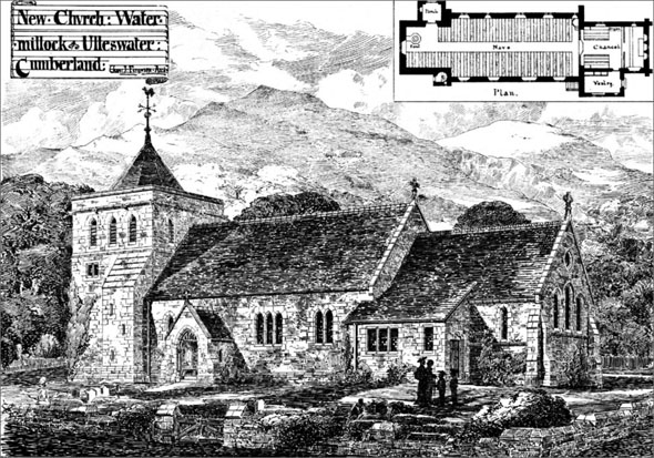 1881 &#8211; New Church, Watermillock, Ullswater, Cumberland