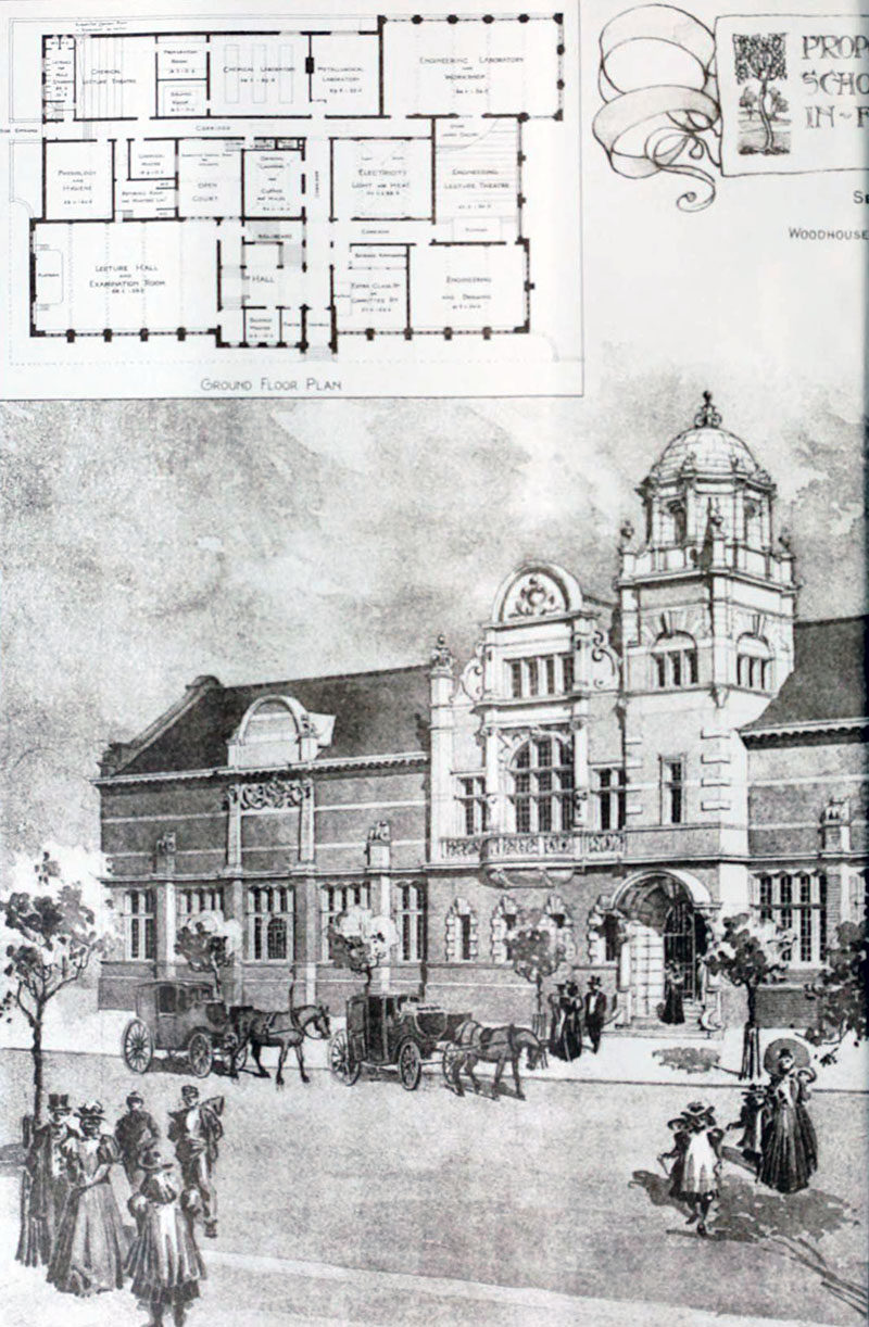 1898 – Technical School, Barrow in Furness, Cumbria