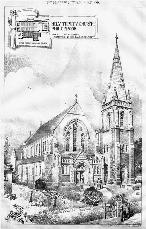 1904 – Holy Trinity Church, Shirebrook, Derbyshire
