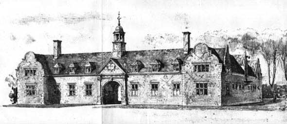 1905 &#8211; Hunting Stables, Foston Hall, Derby, Derbyshire