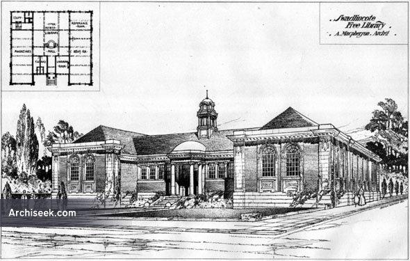 1906 – Swadlincote Free Library, Derbyshire