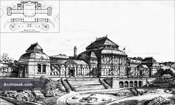 1883 – Matlock Bath Pavilion & Gardens, Derbyshire