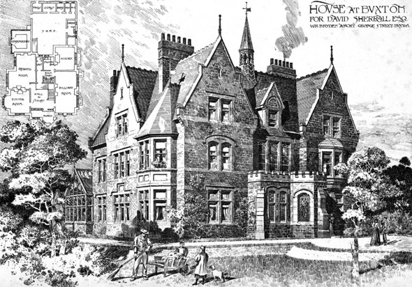 1896 &#8211; House at Buxton, Derbyshire