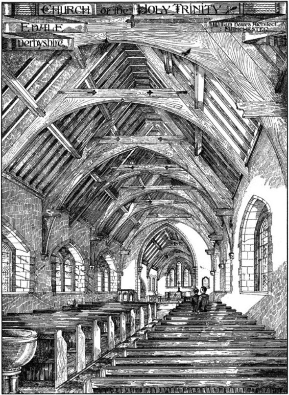 1886- Holy Trinity Church, Edale, Derbyshire