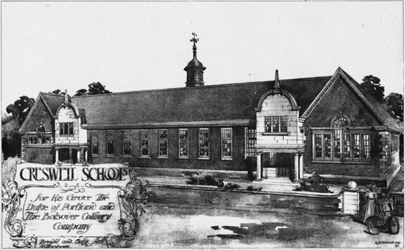 1899 &#8211; Creswell Schools, Derbyshire