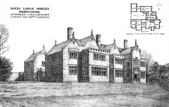 1901 &#8211; Morley Manor, Derbyshire