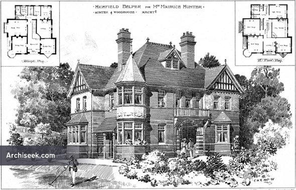 1899 – Highfield, Belper, Derbyshire