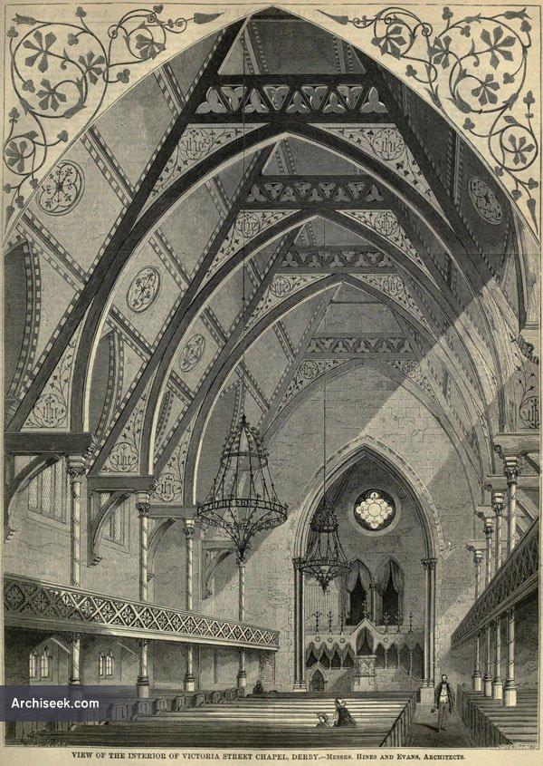 1869 – Chapel, Victoria St., Derby, Derbyshire