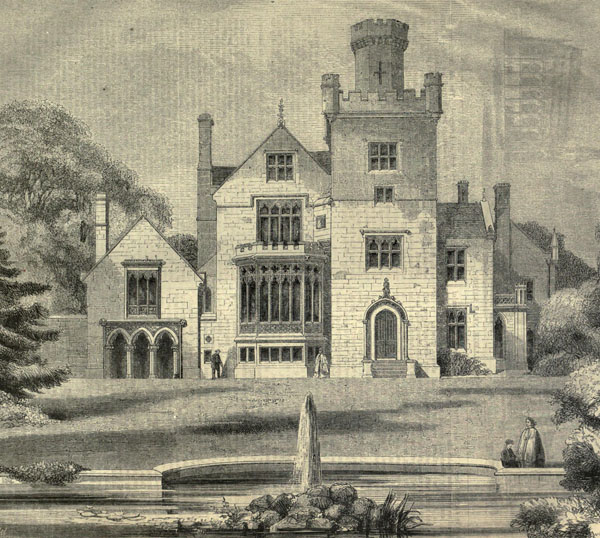 1861 – Breadsall Priory, Derbyshire