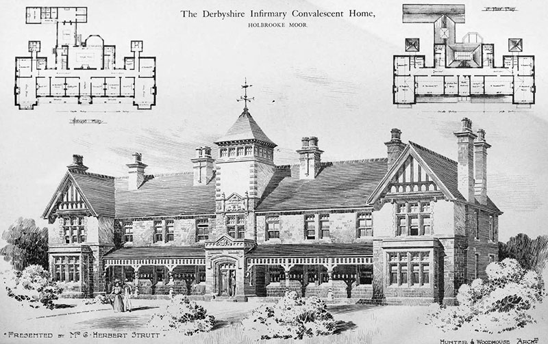 1899 – Derbyshire Infirmary Convalescent Home