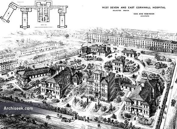 1880 – West Devon & East Cornwall Hospital, Plymouth, Devon