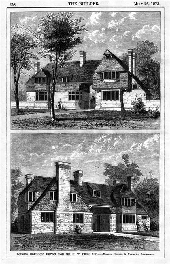 1873 &#8211; Lodges, Rousdon, Devon