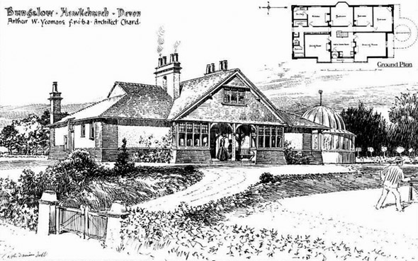 1904 – Bungalow, Hawkchurch, Devon