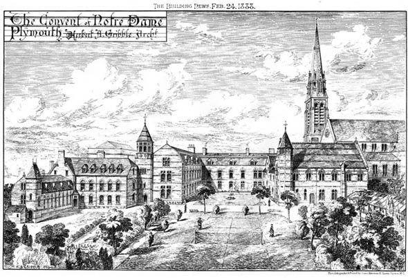 1888 &#8211; The Convent Of Notre Dame, Plymouth, Devon