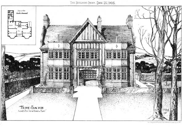 1905 &#8211; House, Exmouth, Devon