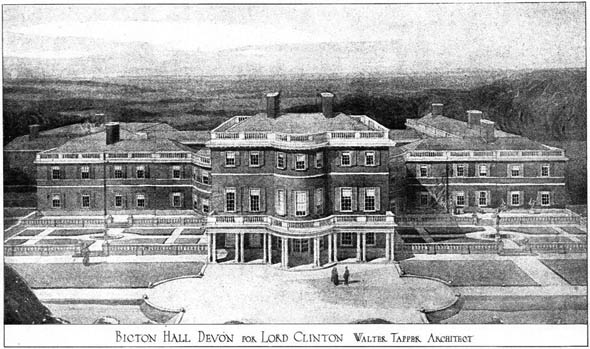 1910 – Bicton Hall, Devon