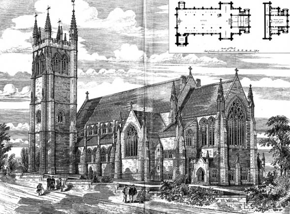 1881 &#8211; St. Andrews, Stoke Damerel, Devonport, Devon