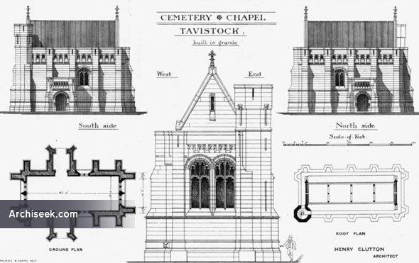 1880 – Cemetery Chapel, Tavistock, Devon