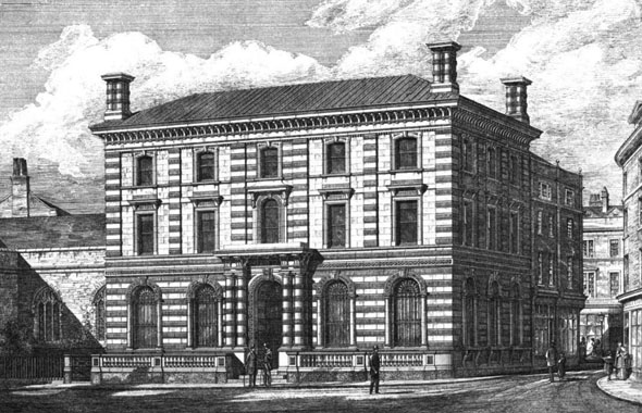 1875 – City Bank, Exeter, Devon