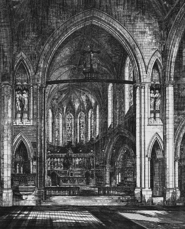 1884 &#8211; Church of The Sacred Heart, Exeter, Devon