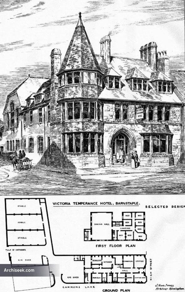 1887 – Victoria Temperance Hotel, Barnstable, Devon
