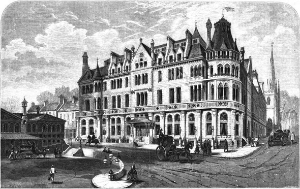 1863 &#8211; Duke of Cornwall Hotel, Plymouth, Devon