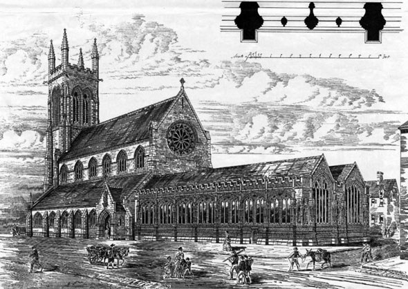 1879 &#8211; St. Mary&#8217;s Church, Truro, Devon