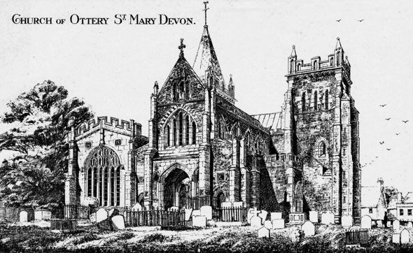 1335 – Church of Ottery St. Mary, Devon