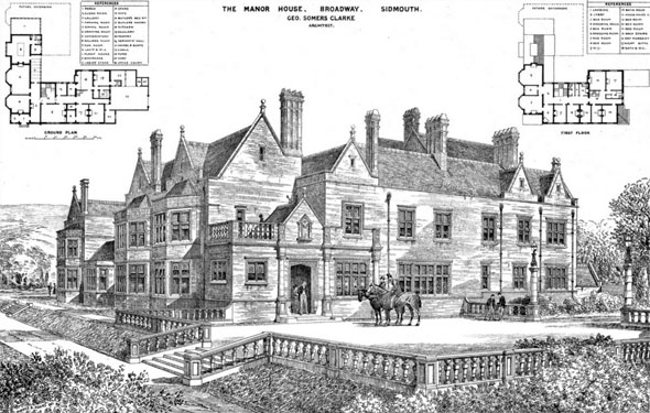 1876 – The Manor House, Broadway, Sidmouth, Devon
