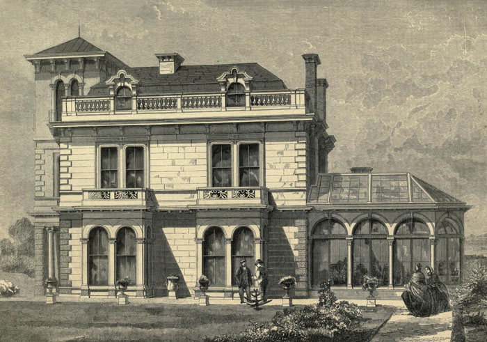 1859 – Houndiscombe House, Plymouth, Devon