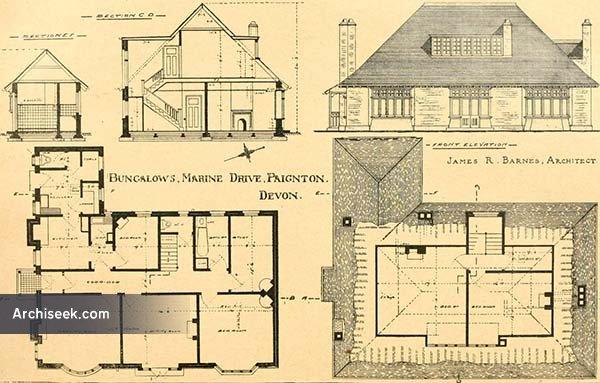 1919 – Bungalows, Marine Drive, Paignton, Devon