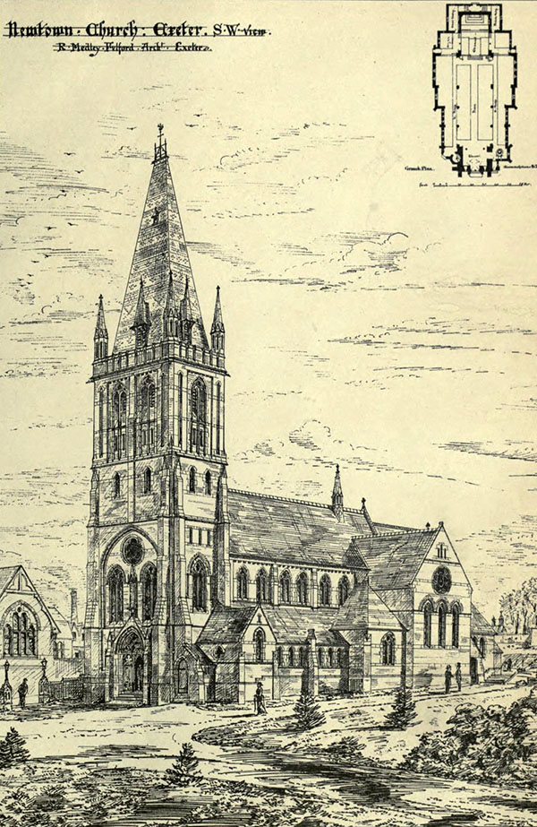 1882 – St. Matthew's Church, Newtown, Exeter, Devon