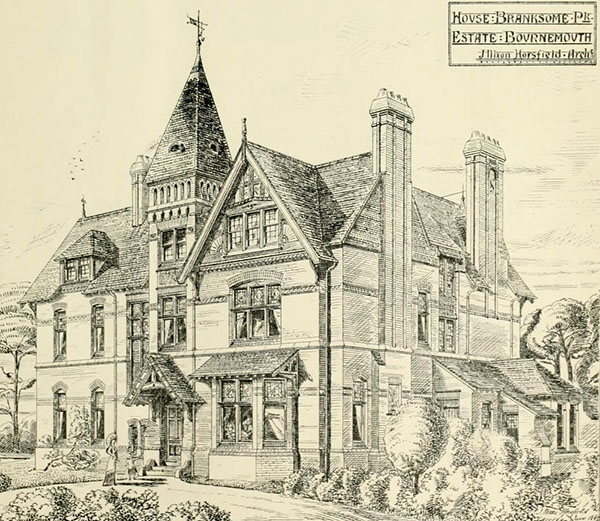 1880 – House, Branksome Park, Bournemouth, Devon