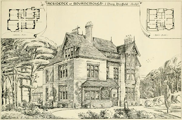 1881 – House, Bournemouth, Devon