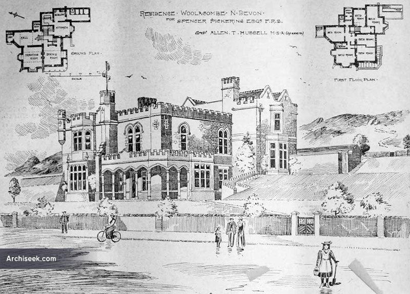 1899 – Residence, Woolacombe, Devon